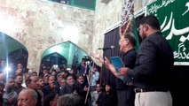 Ali Bhai | Sheh Ka Matam | Haidery Ali Basti | Live Noha 2015