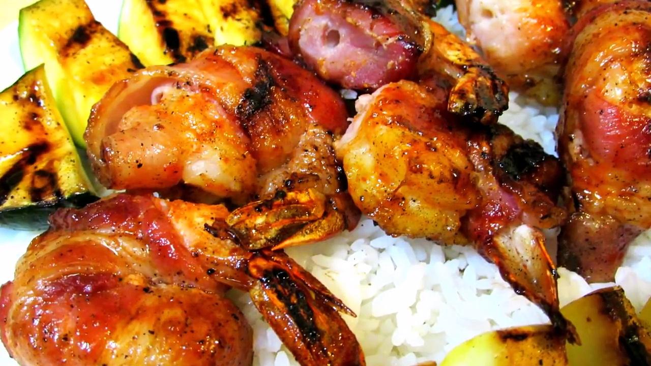 BBQ Shrimp Recipe – Bacon Wrapped BBQ Shrimp