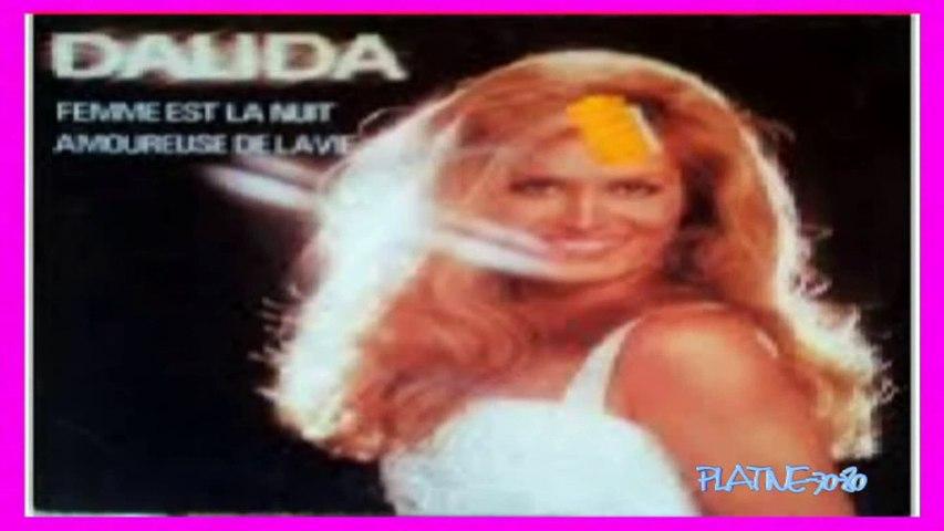 1977-Dalida - Femme Est La Nuit (REMIX)