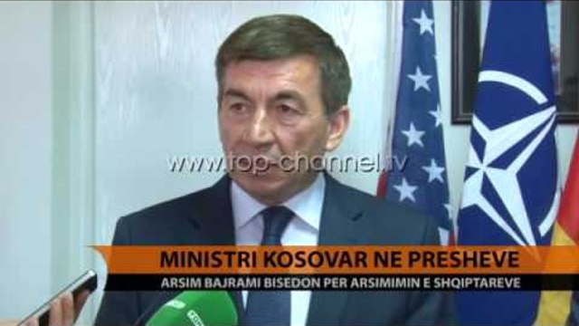 Ministri i Arsimit, Bajrami viziton Luginën e Preshevës - Top Channel Albania - News - Lajme