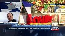 Attentats de Paris : Hommage national aux victimes