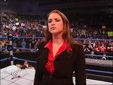 Stephanie McMahon Big Show and Chris Benoit segment