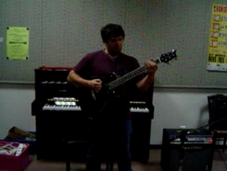 Solo guitare Patrick