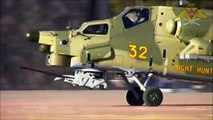 Russian Military Mi-28 helicopter RIVAL to US military AH-64 Helicopter