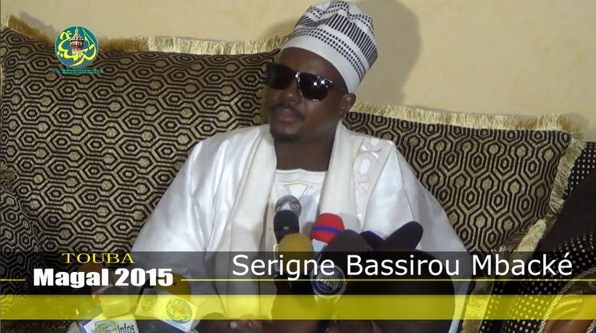 Magal 2015: Rencontre Cheikh Bassirou avec Seuti Cheikh Yi