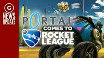 Rocket League Introduces Free Portal DLC - GS News Update