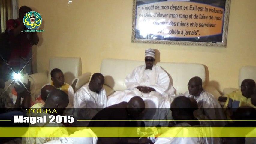 Magal 2015: Rencontre Cheikh Bassirou avec les Représentants du khalife général des mourides
