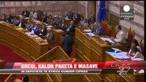 Greqi, kalon paketa e masave - News, Lajme - Vizion Plus