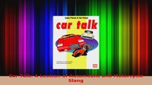 Read  Car Talk A Lexicon of Automobile and Motorcycle Slang EBooks Online