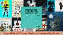 Read  Essentials of Chinese Medicine Internal Medicine EBooks Online