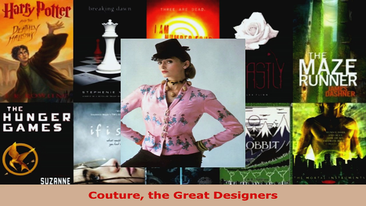 Read  Couture the Great Designers PDF Free