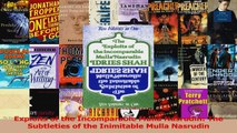 Read  Exploits of the Incomparable Mulla Nasrudin The Subtleties of the Inimitable Mulla PDF Free
