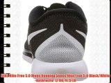 NIKE Nike Free 5.0 Mens Running Shoes Nike Free 5.0 Black/White-Anthracite 12 UK 47.5 EU