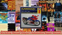 PDF Download  Kawasaki Zx600 Ninja Zx6  ZzR600 Fours Owners Workshop Manual Haynes Automotive Download Full Ebook