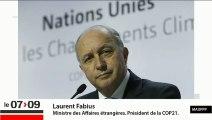 Climat, COP 21, Syrie: Laurent Fabius répond à Patrick Cohen