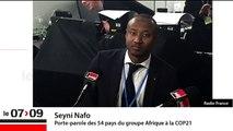 """Seyni Nafo : """"L'Afrique, c'est moins de 4 % des émissions à effet de serre"""""""