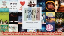 Read  Perrines Sound and Sense An Introduction to Poetry Perrines Sound  Sense An Ebook Online