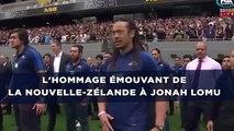 Mort de Jonah Lomu: Les adieux émouvants de la Nouvelle-Zélande