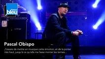 """Pascal Obispo : """"J'essaie de mettre en musique mon émotion"""""""