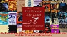 Read  Die Formel der Liebe Das Geheimnis der Seelenpartner und der Weg zur wahren Liebe Full Download
