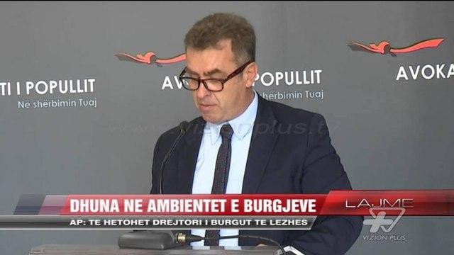 Avokati i Popullit: Të hetohet drejtori i burgut të Lezhës - News, Lajme - Vizion Plus