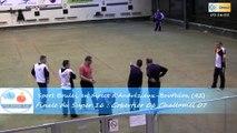 Mène 6, finale du Super 16 Masculin, Challamel contre Gobertier, Sport Boules, Andrézieux-Bouthéon 2015