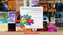 Professional Issues in Nursing Challenges and Opportunities Download