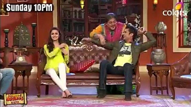 Comedy nights with Kapil Dadi ki Pappi