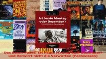 Das BöhmPaket Ist heute Montag oder Dezember und Verwirrt nicht die Verwirrten PDF Kostenlos