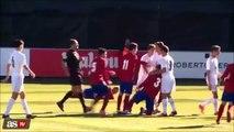 Luca Zidane expulsé pour un coup de tête