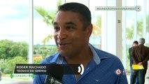 """Roger Machado: """"Fato novo no Brasil é manter um treinador no time, tirar é um fato corriqueiro"""""""