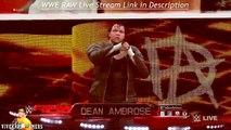 WWE RAW 11-30-15 - Roman Reigns _ Dean Ambrose vs Sheamus _ Kevin Owens - WWE RAW 2K16 Match