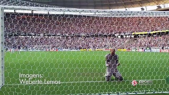 Emocionante! Câmera flagra comemoração do goleiro no gol decisivo do Ceará
