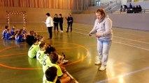 Remise de diplômes au tournoi des - de 10 ans à Châtillon le 29/11/15