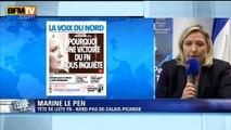 """Marine Le Pen: la Voix du Nord """"est un véritable tract du Parti socialiste"""""""