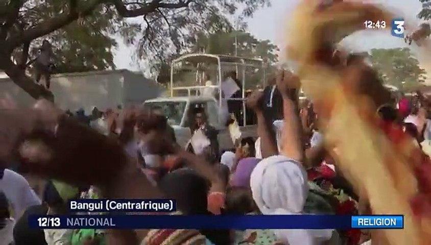 Visite du pape dans une mosquée centrafricaine
