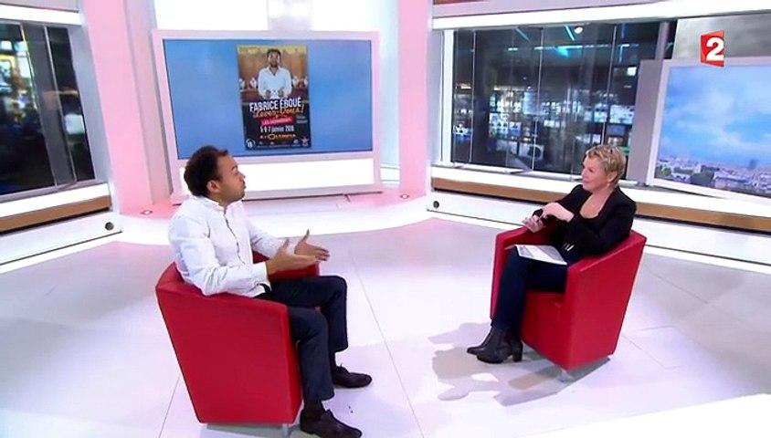 """Fabrice Eboué : """"il faut rire de tout"""""""