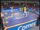 01 AAA Mixed Tag Team Title - Aero Star & Fabi Apache vs. Alex Koslov & Sexy Star