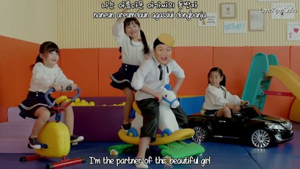 PSY - DADDY(feat. CL of 2NE1) MV [English subs + Romanization + Hangul] HD