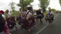 Marathon du Medoc 2015 du 16 ème au 20 ème km / replay  Medoc Marathon from  16 th km to 20 th km.