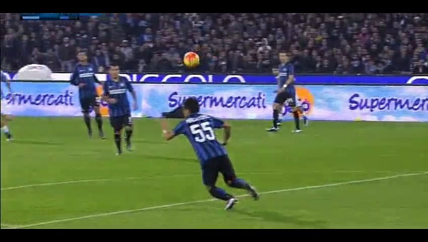 Goal Gonzalo Higuaín - Napoli 1-0 Inter - 30-11-2015