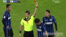 Yuto Nagatomo Brutal Faul and Red Card - Napoli v. Inter 30.11.2015 HD