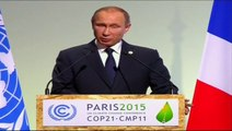 COP21 Leaders' Speeches:  Russian President Vladimir Putin