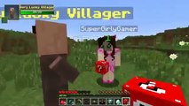 PopularMMOs Pat and Jen Minecraft EGYPTIAN TROLLING GAMES Lucky Block Mod Modded Mini Game