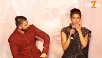 Bajirao Mastani not competing with Dilwale says Bajirao Mastani actor Priyanka Chopra With Ranveer Singh At Bollywood Movie Bajirao Mastani 2015 Promotion
