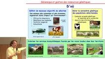 JS 2015 : Xavier Rognon - Génomique et gestion des ressources génétiques