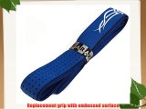 Karakal Tribal replacement racket grips - choice of colour and pack size (Blue / white 10 grips)