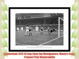 Framed Sunderland 1973 FA Cup Final Jim Montgomery 'Monty's Save' Print Memorabilia
