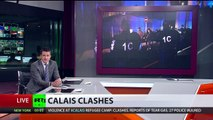 'Almost state of war': Calais locals in fear amid ongoing refugees' clashes with police