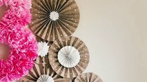 How To Make Paper Rosette Flower Tutorial Video Dailymotion